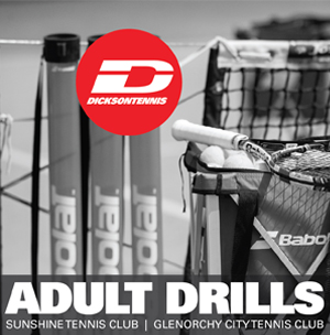 New coaching programs offered by Dickson Tennis at Sunshine Tennis Club