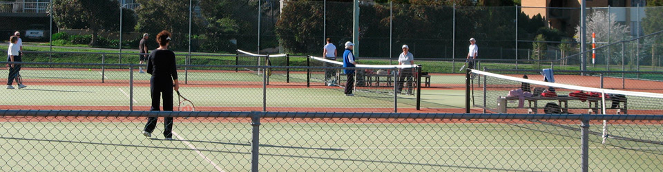 Sunshine Tennis Club members organised tennis day